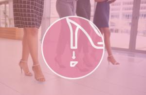 Wymiana fleków damskich - usługi szewskie - naprawa i renowacja obuwia