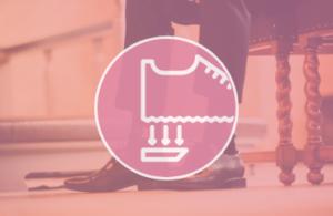 Wymiana fleków męskich - usługi szewskie - naprawa i renowacja obuwia